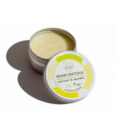 Mini open rich balm tin jar of Clémence et Vivien brand