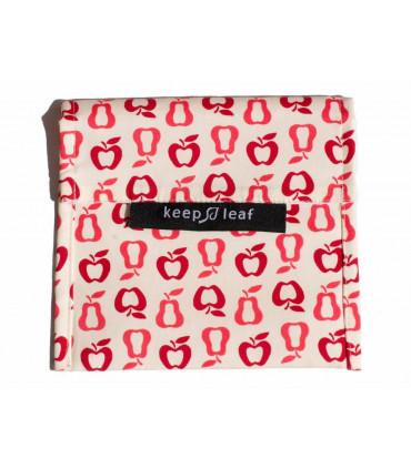 Keepleaf large sandwich baggie with fruit pattern