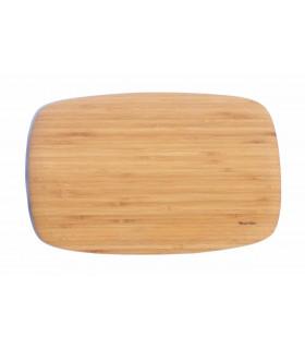 Grande et élégante planche à découper et servir en bambou de la marque Bambu