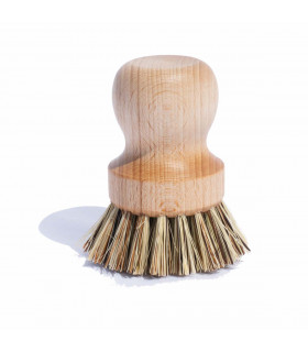 Ecological and efficient wooden pan brush