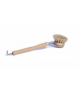 Brosse à vaisselle en bois, écologique et naturelle