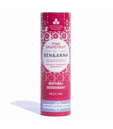 Deodorant stick Pink Grapefruit Ben & Anna