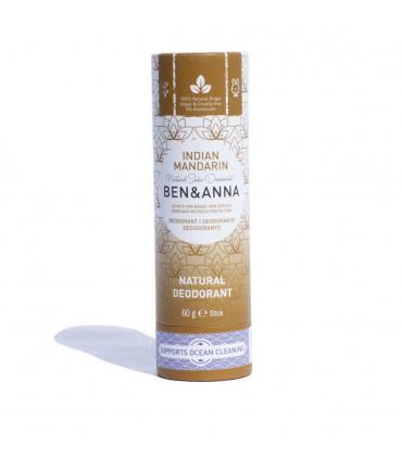 Deodorant stick Ben & Anna Indian Mandarine Vegan