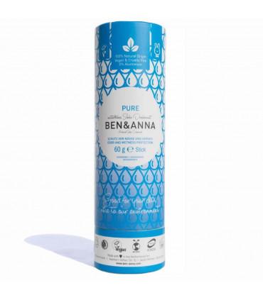 Deodorant stick bar Pure for pregnancies by Ben & Anna