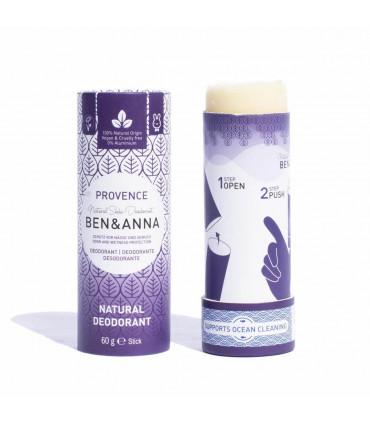 Natural and vegan deodorant bar stick Provence of Ben & Anna