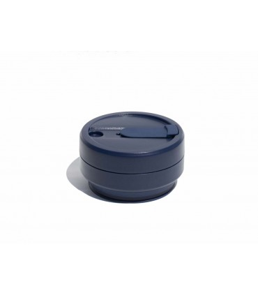 473 ml Collapsed Stojo ecological cup dark blue