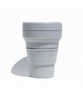 Collapsible Stojo cup 355 ml grey