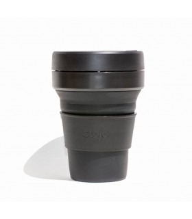 Collapsible Stojo cup 355 ml black