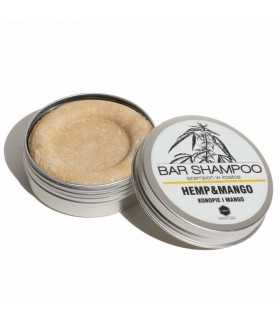 Shampoing solide naturel pour cheveux secs et cassants, Herbs&Hydro