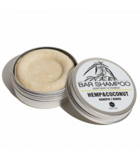 Coconut and hemp bar shampoo, Herbs & hydro