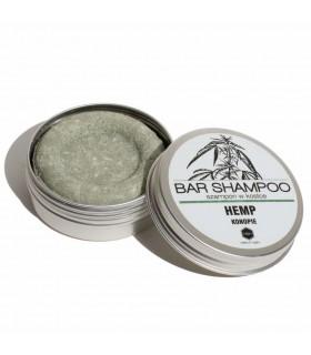 Natural hemp bar shampoo for greasy hair, Herbs & Hydro