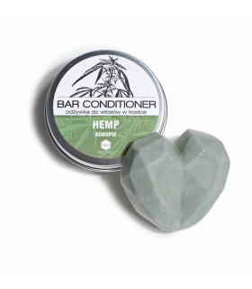 Après-shampoing solide Herbs&Hydro pour les cheveux gras et sujets aux irritations