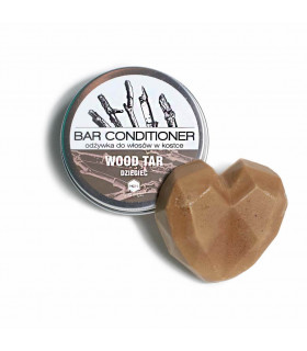 Herbs&Hydro natural bar conditioner with birch tar essential oil that helps prevent dandruff, seborrhea or