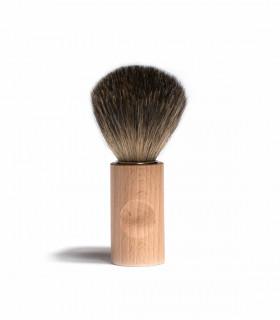 Blaireau de rasage, poils de blaireau et manche en bois, Iris Hantverk