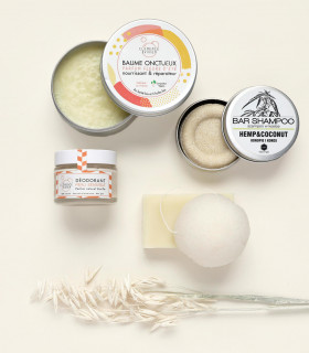 Ecological gift set for a mum to be