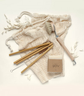 Ecological gift set with zero waste essentials