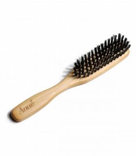 Natural hairbush made of beech wood and boar bristles