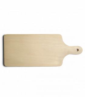 Grande planche rectangulaire à découper en bois de hêtre