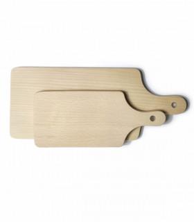 Planche à découper et servir en bois de hêtre huilé, Ah Table