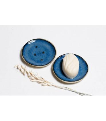 Porte savon en céramique, fabriqué artisanalement, Takaterra