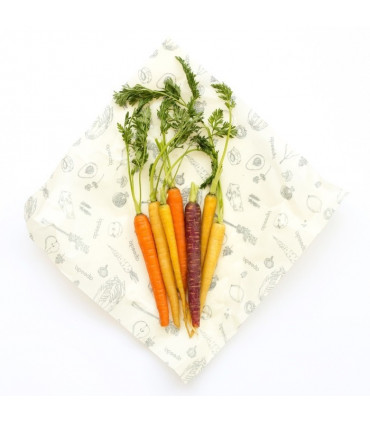 Beeswax food wraps, pack of 2 large, Abeegoo