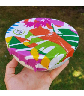 Plant-based wax food wraps made of organic coton, Beebee wraps