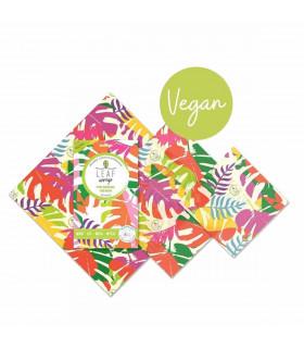 Vegan wax food wraps, pack of 3, from Beebee wraps