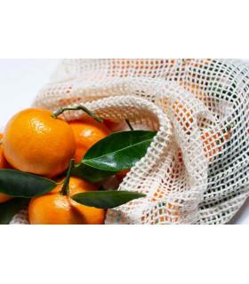 Sac à vrac lavable et réutilisable en coton bio