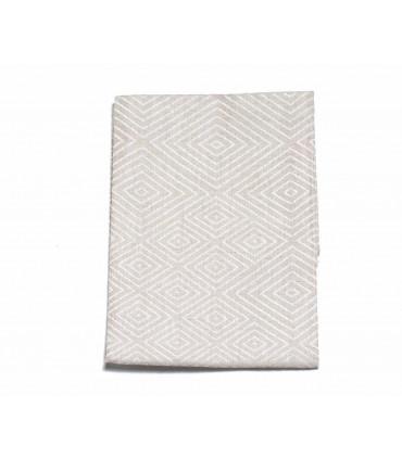 Beige tea towel made from 100% linen, Iris Hantverk