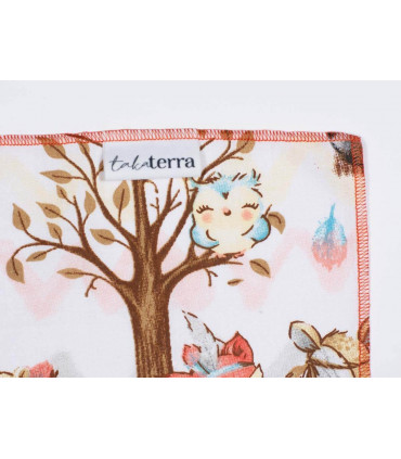 Furoshiki, pour emballer cadeau enfant, 75x75cm, Takaterra