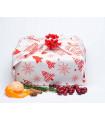 Furoshiki « Christmas Love » 75x75 cm