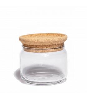 Bocal en verre, couvercle en liège, 0,5L, Ah Table