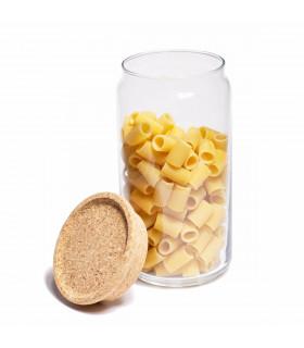 Food storage glass jar 1,5L