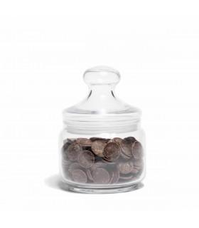 Small glass cookie jar 0,5L