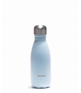 Bouteille isotherme en inox Qwetch pastel bleu 260 ml