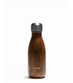Reusable water bottle wood Qwetch small