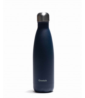 Reusable water bottle 500 ml granite blue Qwetch