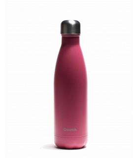 Bouteille isotherme bois de rose Qwetch 500 ml