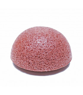 French red clay konjac sponge dry or mature skin