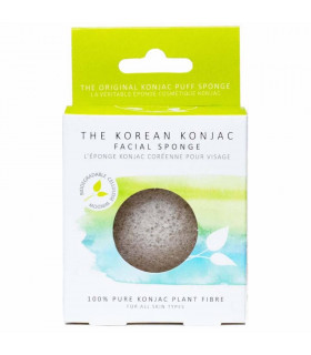 Éponge konjac naturelle pour tout type de peau