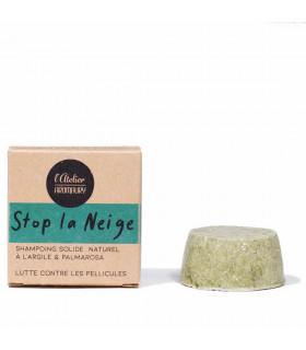 Anti dandruff shampoo bar - Stop la neige