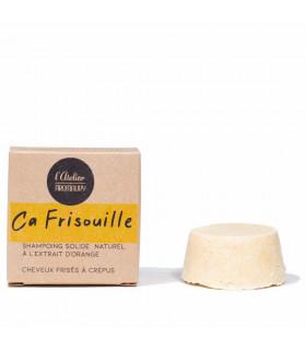 shampoing solide cheveux crépus et cheveux frisés - Ca Frisouille