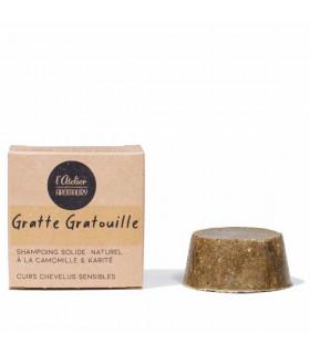 Shampoing solide cuir chevelu sensible - Gratte Gratouille