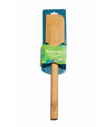Scraping bamboo spatule