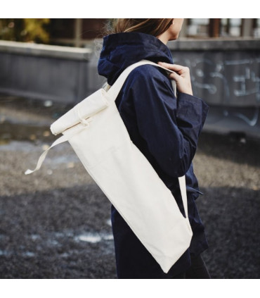 Baguette bag made of cotton