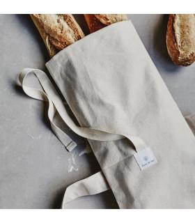 Bread and baguette cotton bag