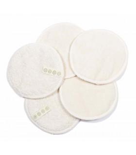 Disques démaquillants lavables en coton bio