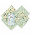Beeswax Food Wrap – The Family Pack – Winter
