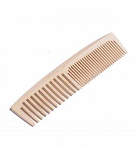 Peigne sans plastique en bois, fait main