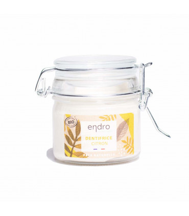 Organic natural toothpaste - Lemon Zest, Endro